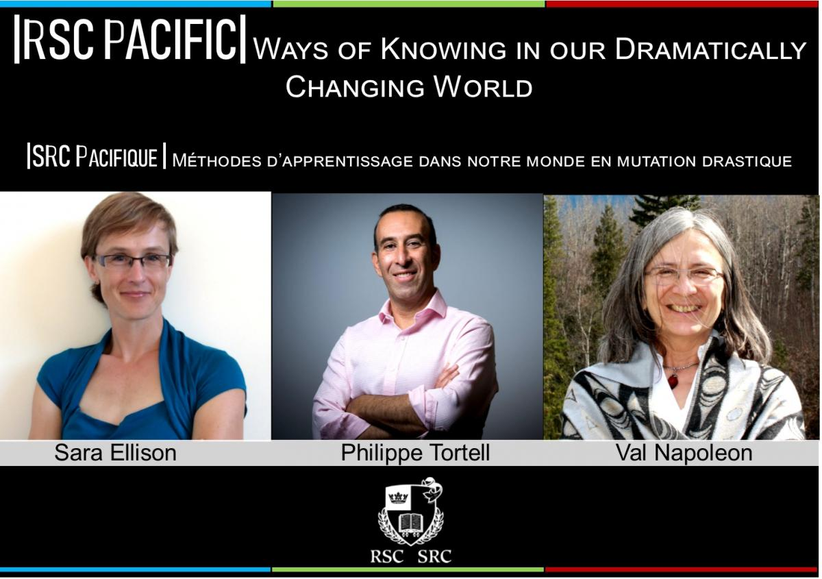 2019 RSC Pacific Seminar & Reception | Ways of Knowing in our Dramatically Changing World