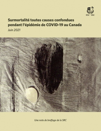 Surmortalité toutes causes confondues pendant l'épidémie de COVID-19 au Canada
